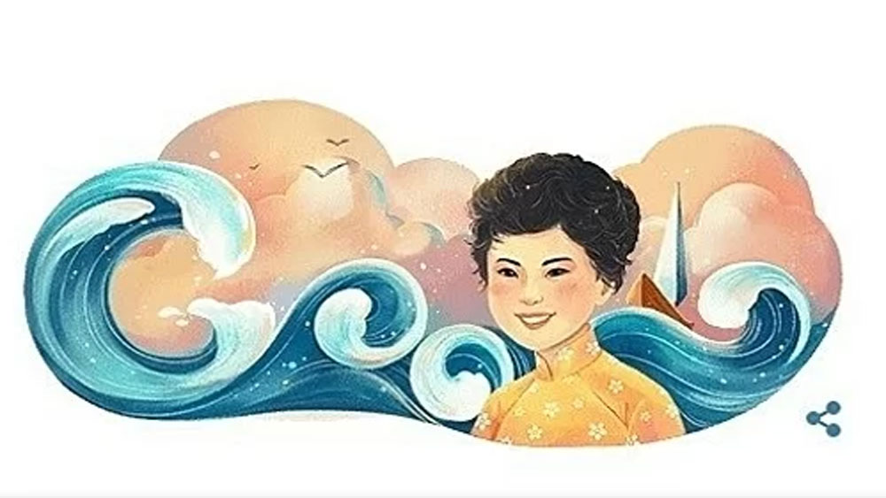 Xuan Quynh first Vietnamese woman on Google Doodle