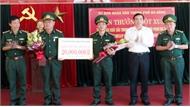 Khen thưởng lực lượng phá vụ vận chuyển lượng lớn ma túy từ Lào về Việt Nam