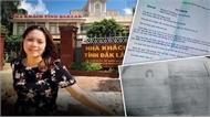 """Thông tin chính thức về vụ việc cán bộ Văn phòng Tỉnh ủy Đắk Lắk """"mượn"""" Bằng tốt nghiệp THPT của chị gái"""