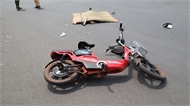 Bắc Giang: Ô tô va chạm với xe đạp điện, một người bị thương