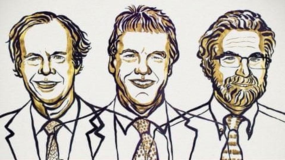 Giải Nobel Y học năm 2019 , ba nhà khoa học, William Kaelin, Peter Ratcliffe và Gregg Semenza