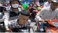 Cảnh sát đặc nhiệm truy đuổi hai tên cướp ở TP Hồ Chí Minh