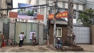 TP Hồ Chí Minh: Tạm dừng thi công công trình Trường Tiểu học sau tai nạn làm hai người thương vong
