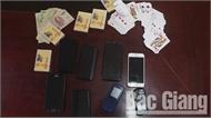 Bắc Giang: Tạm giữ 7 đối tượng về hành vi đánh bạc