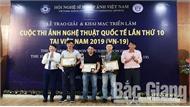 Tác giả Nguyễn Hữu Thông (Bắc Giang) giành Huy chương Bạc cuộc thi ảnh nghệ thuật quốc tế