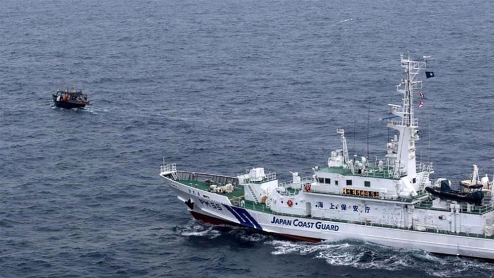 Nhật Bản phản đối Triều Tiên về vụ va chạm tàu