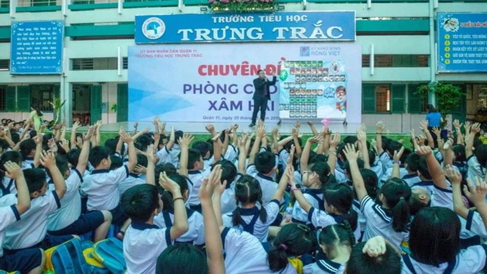 TP Hồ Chí Minh, học sinh tiểu học, nôn ói, nhập viện sau giờ học, Trường Tiểu học Trưng Trắc
