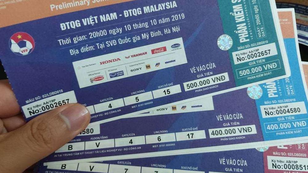 Trận Việt Nam - Malaysia: Bắt đầu cơn sốt vé