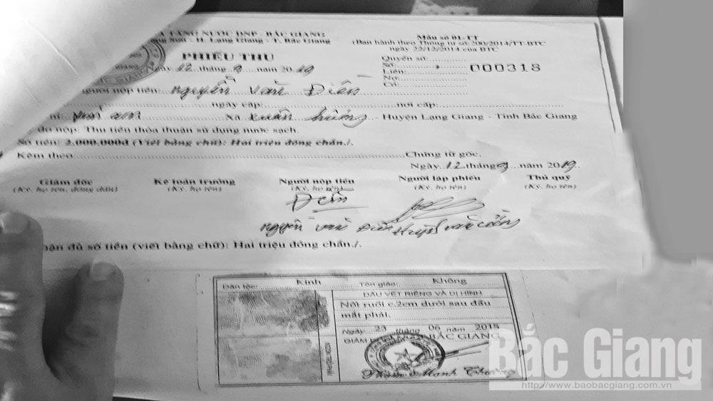 xã Xuân Hương (Lạng Giang), Công ty DNP, công ty nước sạch, Bắc Giang, cấp nước