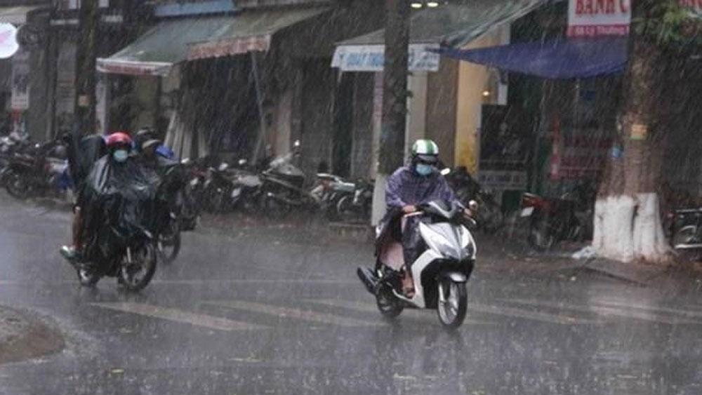 Các tỉnh Bắc Bộ,  Bắc Trung Bộ, mưa to đến rất to