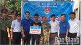 Huyện đoàn Lục Nam trao nhà nhân ái cho hộ nghèo