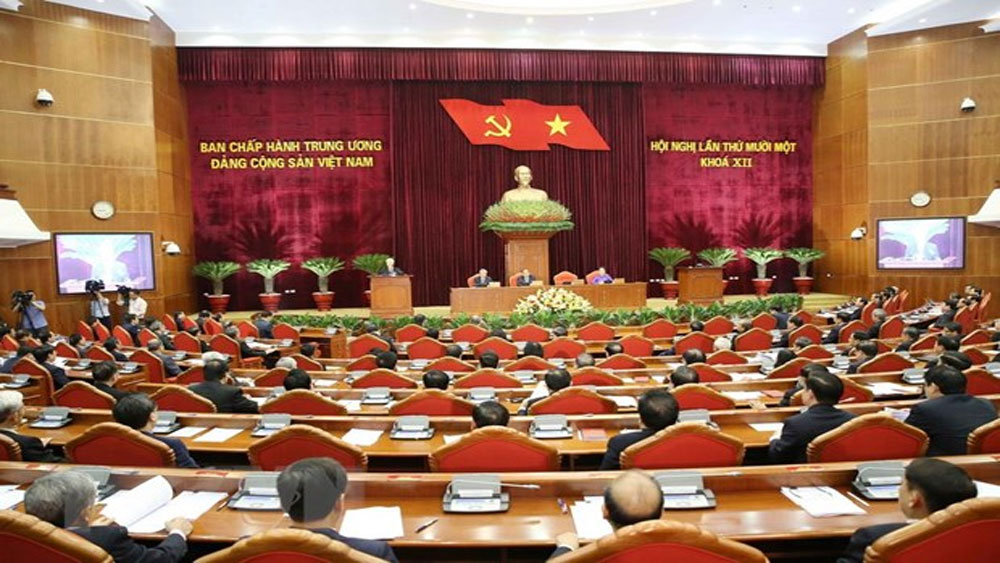 Ngày làm việc thứ ba, Hội nghị lần thứ 11, Ban Chấp hành Trung ương Đảng khoá XII