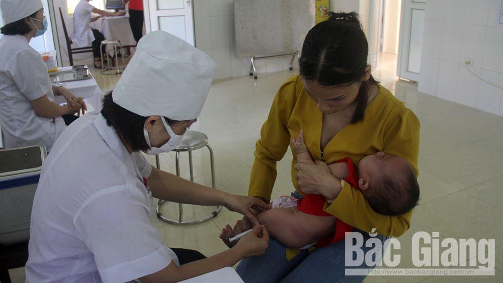 Tiêm bù vắc-xin 5 trong 1, vắc-xin 5 trong 1, Bắc Giang