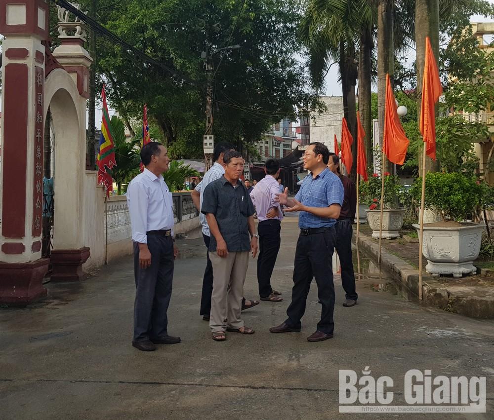 Xây dựng thôn nông thôn mới kiểu mẫu, Đồng Quan, Đồng Sơn, TP Bắc Giang, Bắc Giang