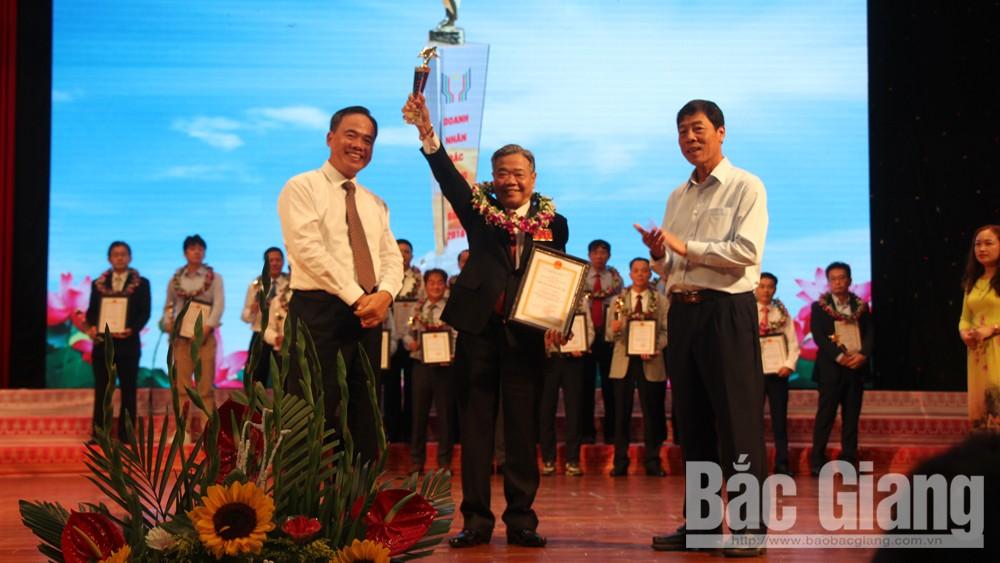 Bắc Giang: Tôn vinh doanh nghiệp, doanh nhân và sản phẩm công nghiệp nông thôn tiêu biểu