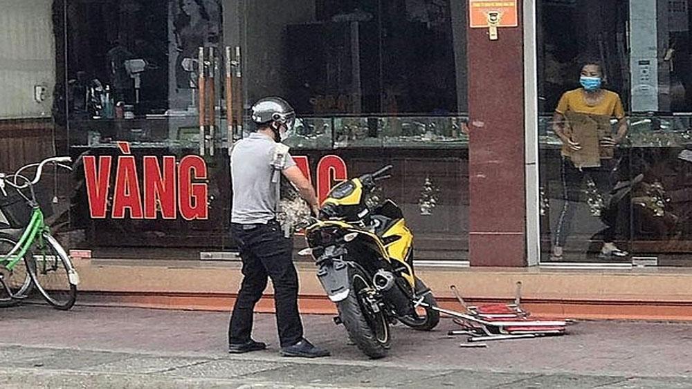 Đinh Thanh Tùng, bắt giữ, đối tượng sử dụng súng cướp tài sản, phường Mạo Khê, thị xã Đông Triều, Cửa hàng kinh doanh vàng Lương Oanh