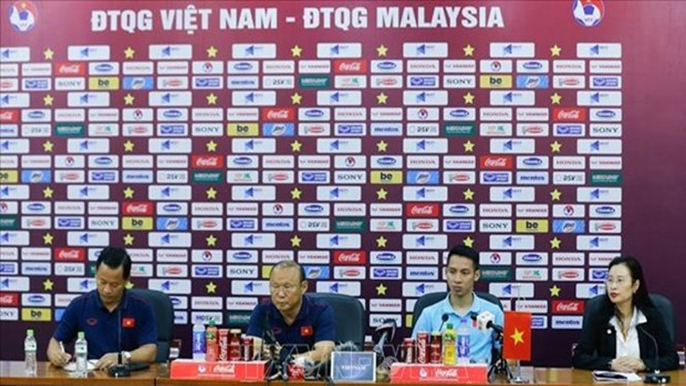 Coach Park unveils final squad for World Cup qualifiers against Malaysia