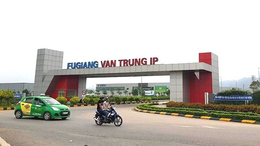 Bac Giang province, FDI projects, new projects, industrial parks,  new investment projects, registered and added capital