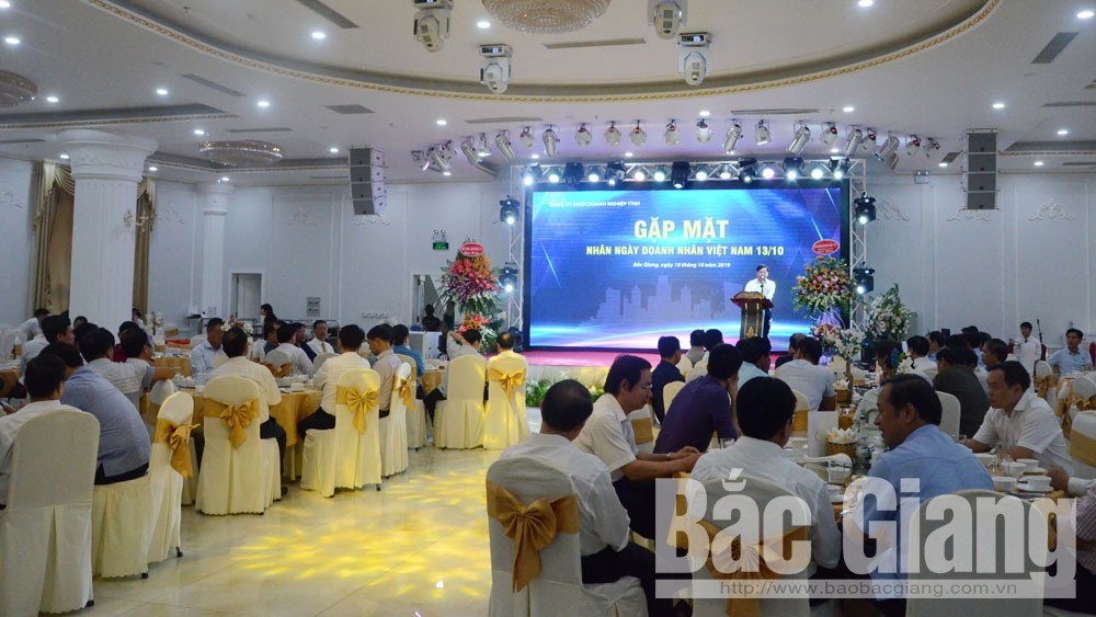 Bắc Giang, Đảng ủy Khối Doanh nghiệp, gặp mặt, doanh nhân