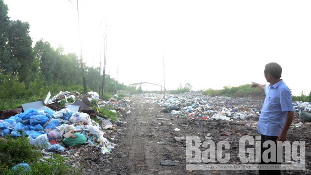 Yên Dũng, khắc phục, dự án, bãi rác thải