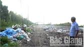 Khắc phục bất cập về rác thải tại thị trấn Neo (Yên Dũng)