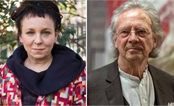 Nobel Văn học vinh danh nữ nhà văn Ba Lan và nam nhà văn Áo