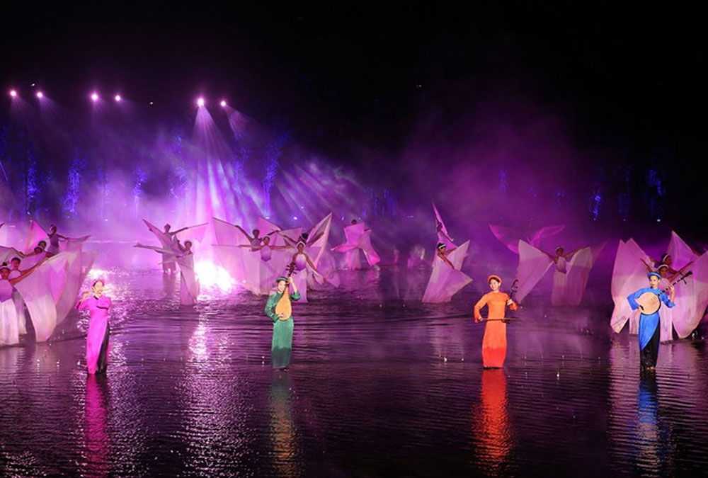 Outdoor spectacle, special tourism prize, Tinh Hoa Bac Bo, Quintessence of Tonkin, The Guide Awards 2019, agricultural culture