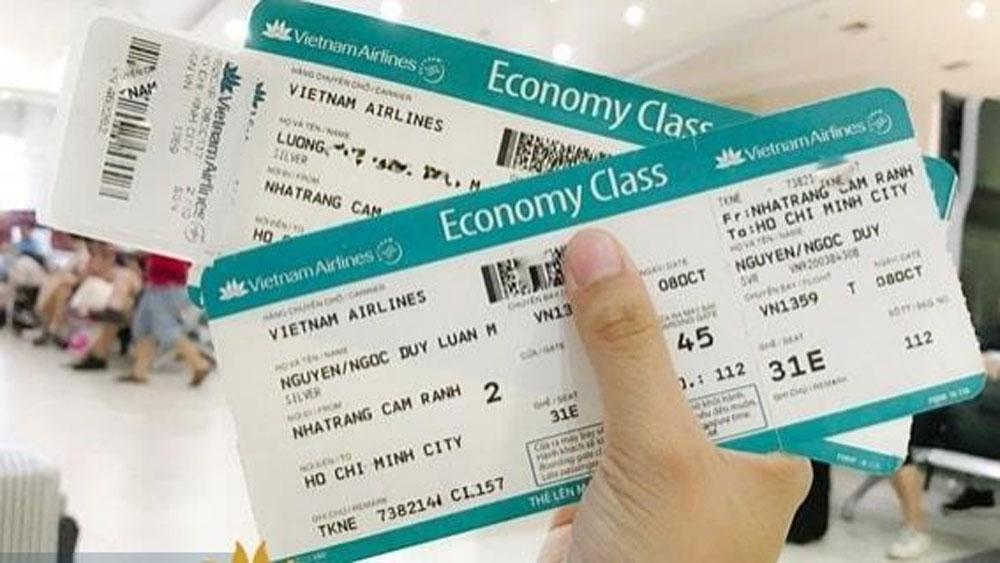 Xử 17 năm tù, đối tượng dùng tên giả, lừa bán vé máy bay, TAND TP Hà Nội, bị cáo Bùi Thị Vân Anh