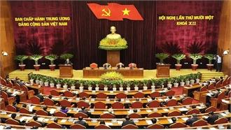 Bế mạc Hội nghị lần thứ 11 Ban Chấp hành Trung ương Đảng khoá XII