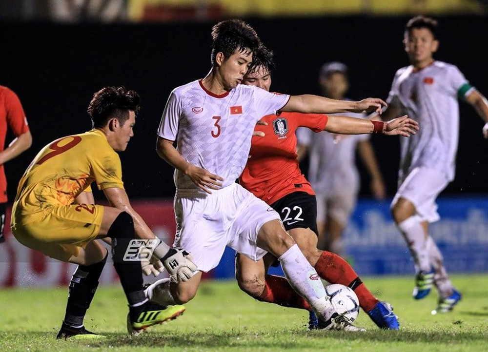 Thua sát nút, U19 Hàn Quốc, U19 Việt Nam, ngôi á quân, GSB Bangkok Cup
