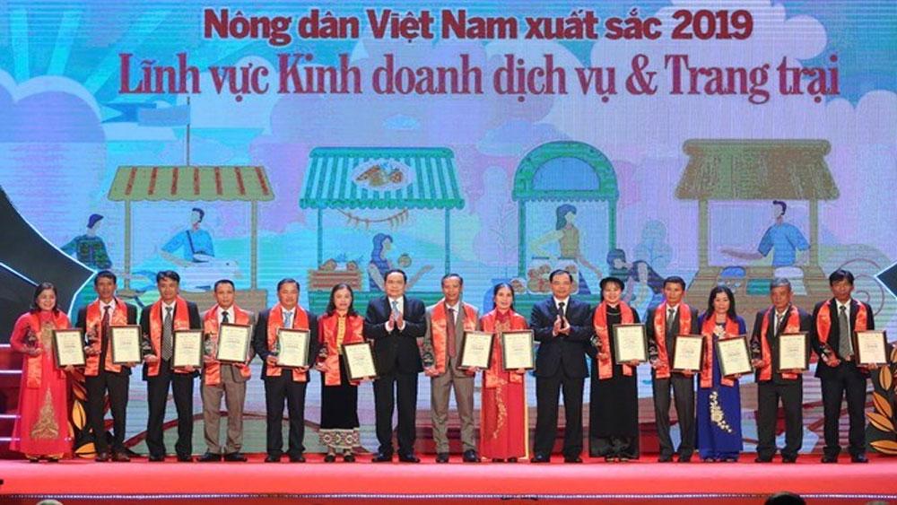 Kỷ niệm ngày thành lập Hội Nông dân Việt Nam 14-10, Vinh danh, 63 nông dân Việt Nam xuất sắc