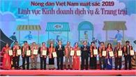Kỷ niệm ngày thành lập Hội Nông dân Việt Nam 14-10: Vinh danh 63 nông dân Việt Nam xuất sắc lần thứ VII, năm 2019
