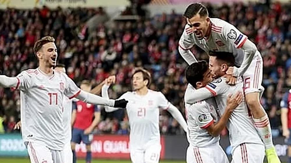 Tây Ban Nha, chiến thắng, Na Uy, Euro 2020