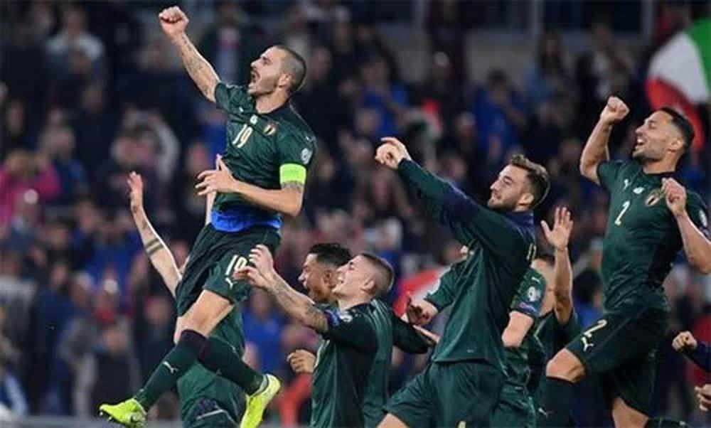 Italy, Euro, Bernardeschi, Mancini, Hy Lạp