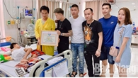 Sức khỏe cháu nhỏ ở Bắc Giang bị bác họ chém trọng thương tiến triển tốt