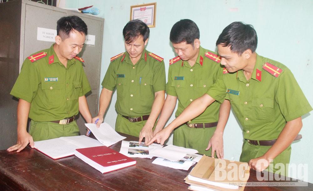 Công an, Lục Nam, Bắc Giang, tội phạm, tuần tra vũ trang, an ninh trật tự