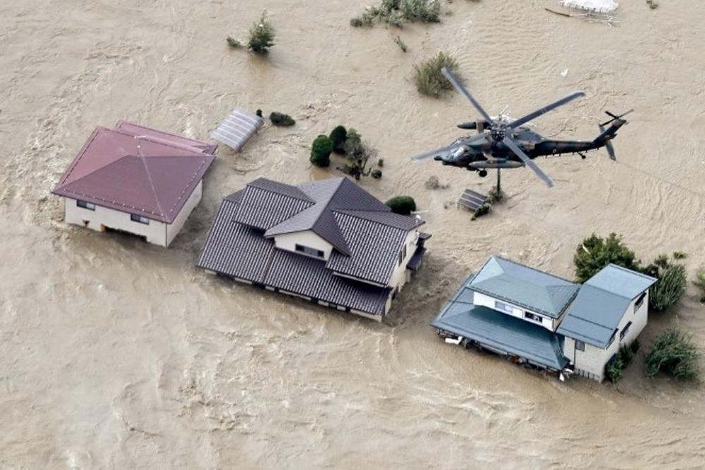 Siêu bão Hagibis, tàn phá Nhật Bản, thủ đô Tokyo