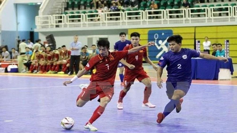 Southeast Asia Futsal Championship, Futsal HD Bank,  national teams, qualifying round, Vietnam Football Federation,  opening ceremony