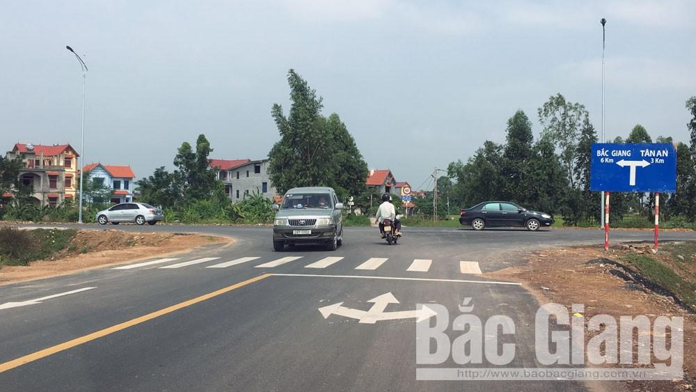 Yên Dũng, 69 tỷ đồng, xây dựng, đường nối
