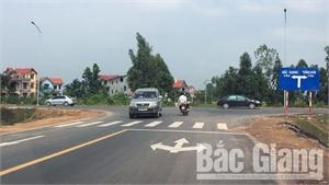 Hơn 69 tỷ đồng đầu tư xây dựng đường nối đường tỉnh 299 đi đường Tây Yên Tử