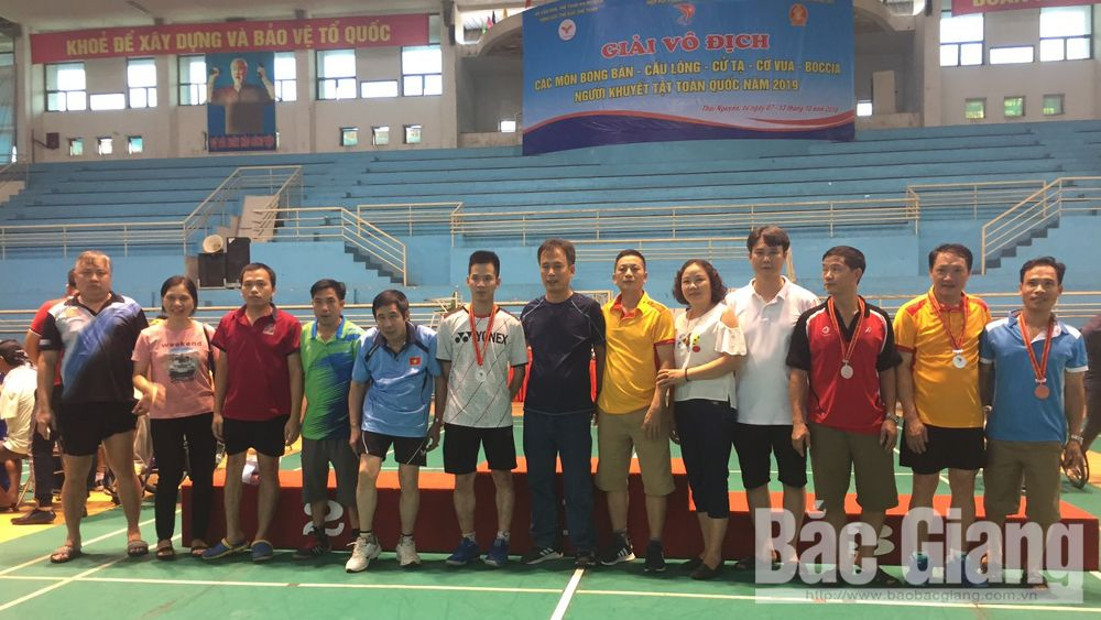 Bắc Giang, 16 chuy chương, giải đấu quốc gia