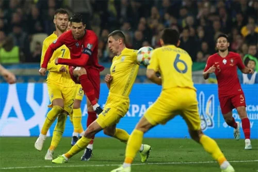 Ukraine, Bồ Đào Nha, Euro, Ronaldo