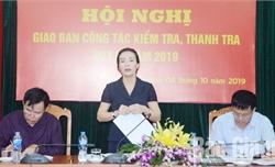 Công tác kiểm tra, giám sát góp phần thực hiện thắng lợi Nghị quyết Đại hội Đảng bộ tỉnh Bắc Giang