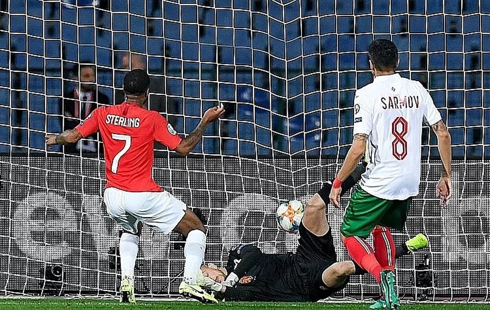 Anh phân biệt chủng tộc, Bulgaria, vòng loại Euro 2020