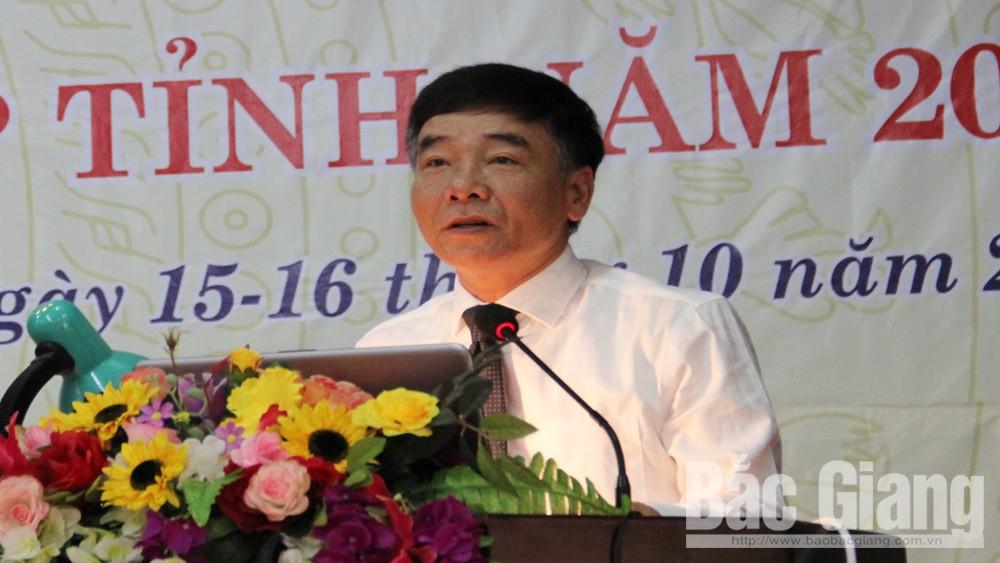 Đồng chí Đỗ Đức Hà phát biểu khai mạc.