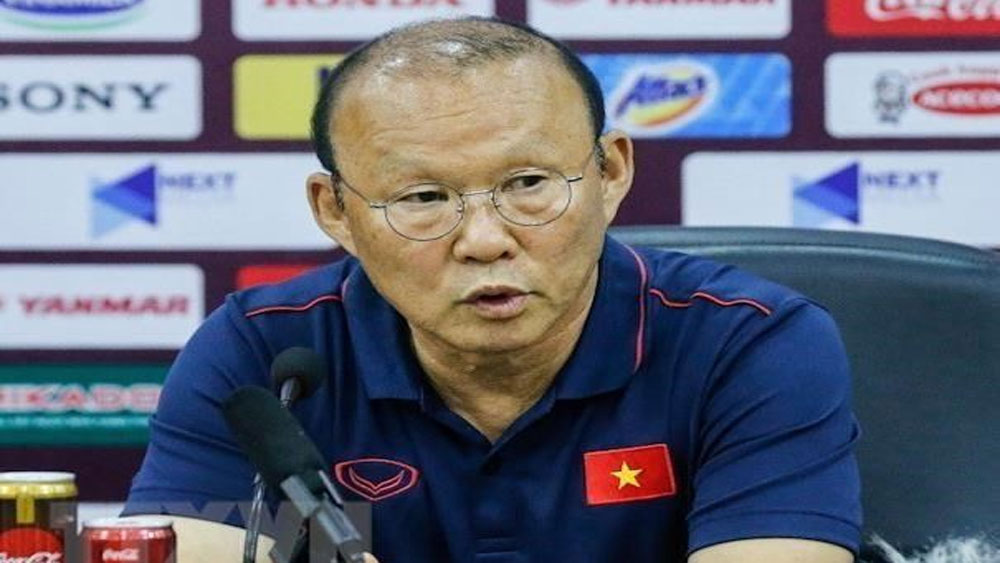 Coach Park, Vietnam, Indonesia, football team, World Cup 2022 qualifiers, qualification campaign,  strong team