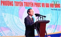 Báo Đảng địa phương tuyên truyền phục vụ đại hội đảng các cấp: Bảo đảm đúng, trúng, sát thực, hiệu quả