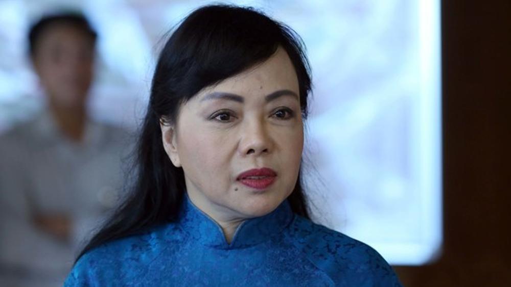 Nguyễn Thị Kim Tiến, Quốc Hội, Nhân Sự, Bộ Trưởng Y Tế