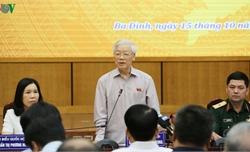 Tổng Bí thư: Kiên quyết, kiên trì bảo vệ độc lập, chủ quyền