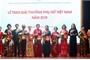 Giải thưởng Phụ nữ Việt Nam 2019 tôn vinh 16 cá nhân và tập thể